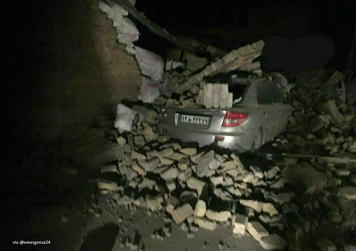 Iran Earthquake Tria