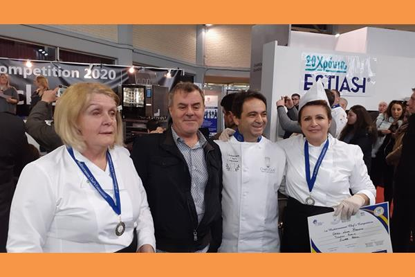 1stMediterranean Chef's Competition 2020.