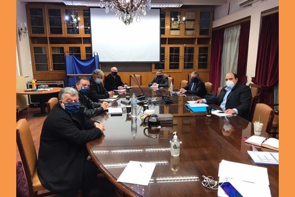 Συνάντηση με το Γενικό Γραμματέα του Υπουργείου Οικονομικών κύριο Χρήστο Τριαντόπουλο