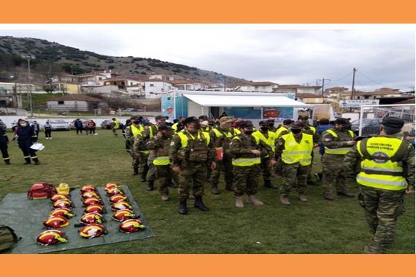 Ο Δήμος Ληξουρίου για ακόμη μια φορά δείχνοντας  έμπρακτα την αλληλεγγύη του και τη συμπαράστασή του στους πληγέντες του σεισμού