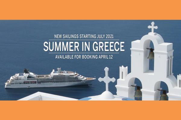 Seabourn: Ξεκινάει κρουαζιέρες στην Αθήνα στις 3 Ιουλίου