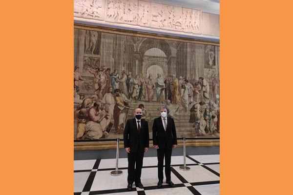 Συνάντηση με τον Υπουργό Εξωτερικών του Λιβάνου στο πλαίσιο της Τριμερούς Συνόδου Υπ. Εξ.  Ελλάδας-Λιβάνου και Κύπρου