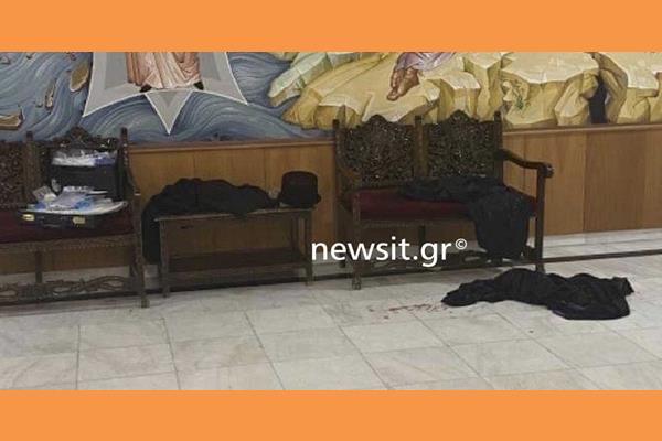 Μονή Πετράκη: Αίματα και ράσα στο πάτωμα