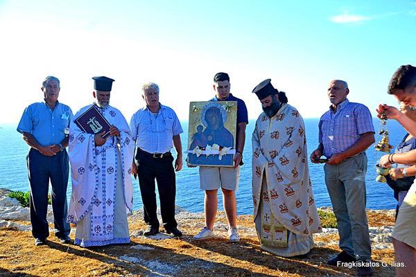 Εορτάστηκε η Παναγία η Διώτισσα -Το ταξίδι στο μικρό νησάκι [εικόνες]