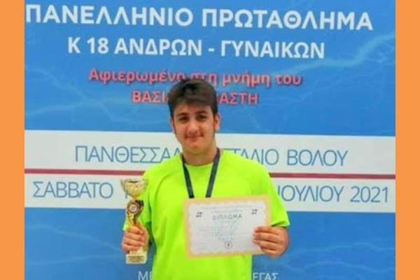 Με την Εθνική Κ-18 στη Κύπρο ο νεαρός Πανελληνιονίκης, σφαιροβόλος Δημ. Αντωνάτος