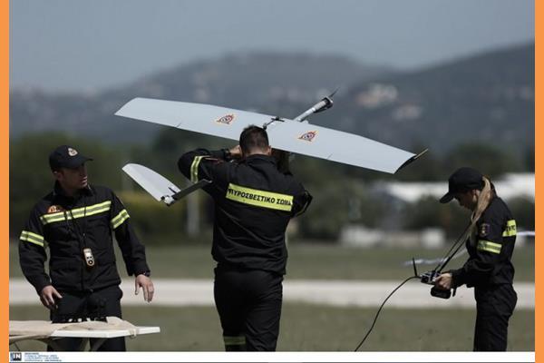 θα  Συνεχίζονται οι πτήσεις επιτήρησης με Drone