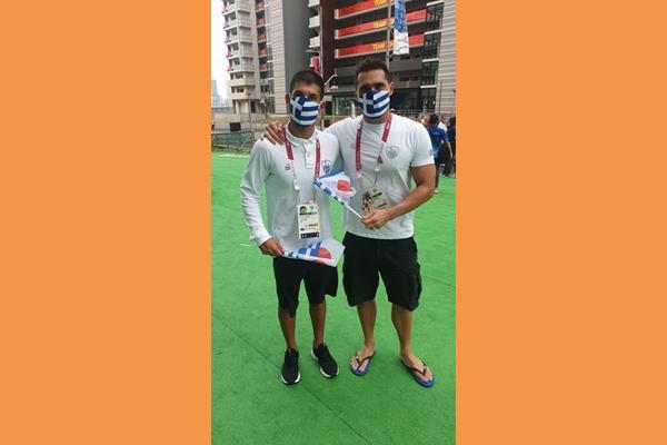 """Γεράσιμος Λιγνός:                             Τι λέει γι'αυτόν ο Ολυμπιονίκης      Χ . Ταιγανίδης                                """"Για μια φορά ΟΛΥΜΠΙΟΝΙΚΗΣ   ΓΙΑ ΠΑΝΤΑ ΟΛΥΜΠΙΟΝΙΚΗΣ…"""""""