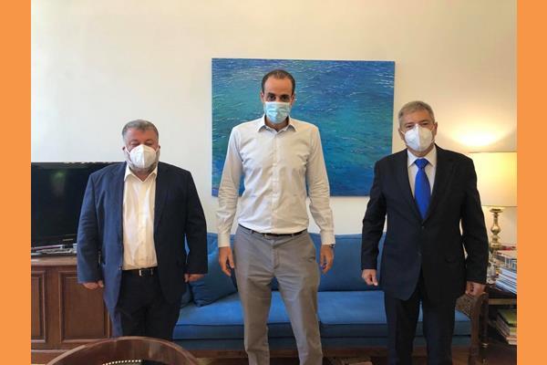 Συνάντηση με τον Γενικό Γραμματέα του Πρωθυπουργού κ. Γρηγόρη Δημητριάδη