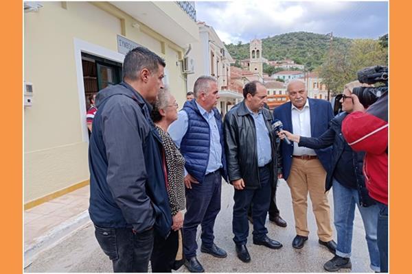 ΣΥΡΙΖΑ: Στην Ιθάκη ο Χρήστος Σπίρτζης για την εκτίμηση των ζημιών.