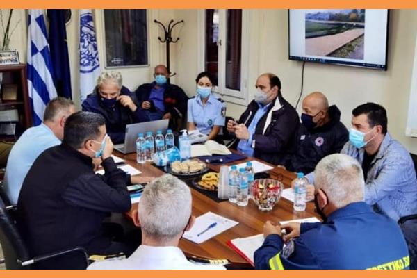 Δ. Στανίτσας: Σύσκεψη στο Δημαρχείο και αυτοψία κυβερνητικού κλιμακίου για της καταστροφές στην Ιθάκη