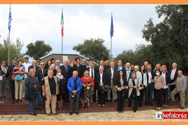 Αργοστόλι: Τίμησαν την μνήμη των Ιταλών πεσόντων της Μεραρχίας Ακουι (εικόνες/video)