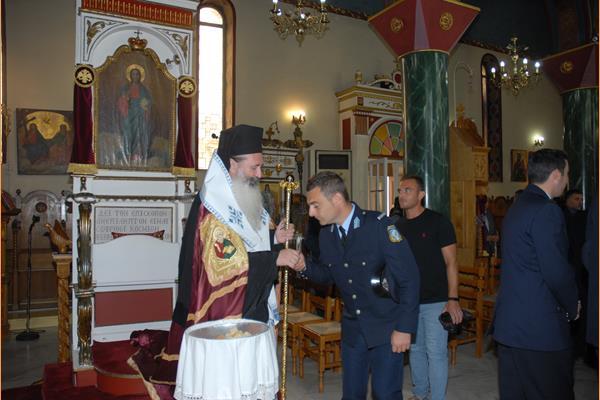 Εορτασμός της Ημέρας της Αστυνομίας και του Προστάτη του Σώματος, Μεγαλομάρτυρα Αγίου Αρτεμίου στην Κεφαλονιά